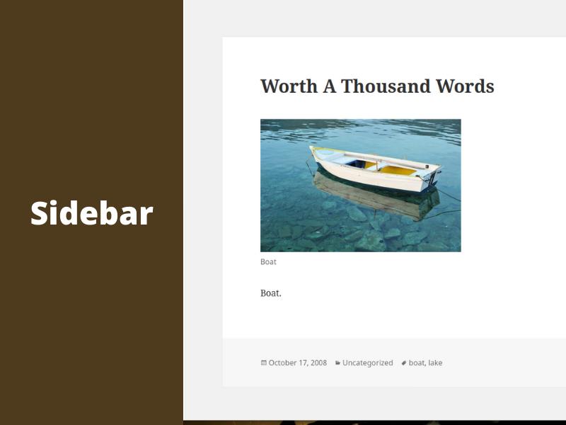 Meine Erfahrungen mit der Sidebar auf Webseiten